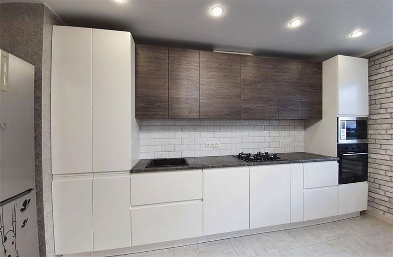 Кухонный гарнитур из профилей Komandor